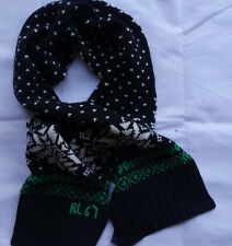 POLO Ralph Lauren SNOWFLAKE SCARF 100% WOLLE