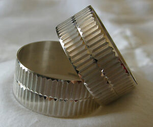 Antique English Sterling Silver Napkin Rings On Ebay