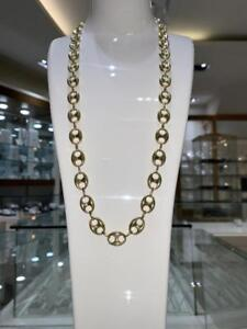 Brand New 10k Yellow Gold Gucci Chain 28 inch 12mm 29.3 gr Canada Preview