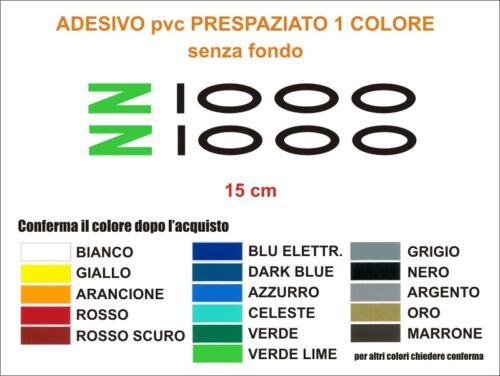 Kit Adesivi Kawasaki z1000 z 1000 coppia carena serbatoio decals stickers pvc