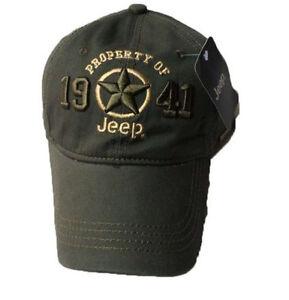 New 1941 Army Green Jeep Hat Cap Women Men Unisex baseball Golf Ball ... c965d96e8340