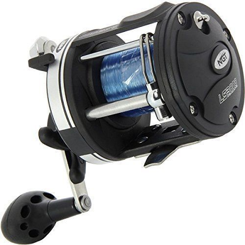 MULTIPLIER SEA FISHING REEL LS3000 WITH 25LB STRONG SEA LINE BOAT FISHING REEL