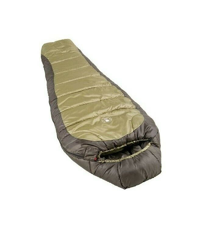 Coleman 0°F Mummy Sleeping Bag for Big and Tall Adults North Rim Cold-Weather...
