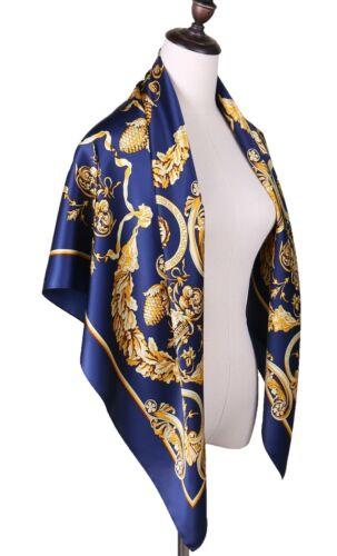 Grace Scarves 100/% Silk Scarf Oriental Fans Extra-Large