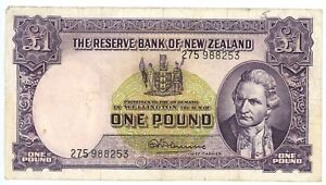 1960-1967-ND-The-Reserve-Bank-of-New-Zealand-1-One-Pound-Pick-P-159D