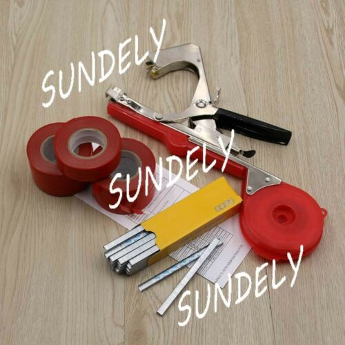 10 Tape Plant Hand Tying Binding Machine Kits Garden Flower Vegetable Tapetool