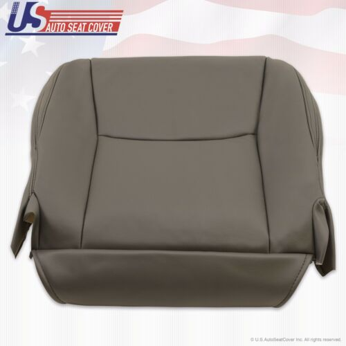 Fit 2005 2006 Lexus GX470 Driver Bottom Replacement Leather Seat Cover Dark Gray