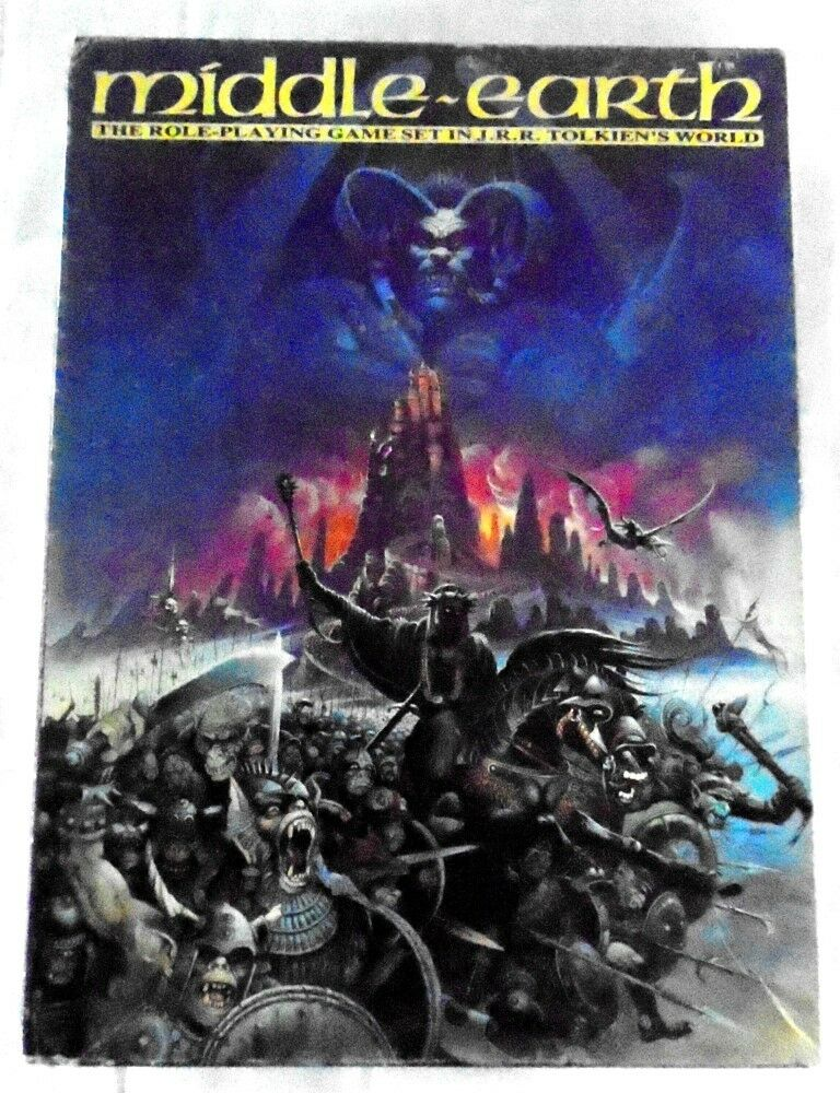 I.C.E. Middle Earth Roleplaying Game MERP Multi-title listing