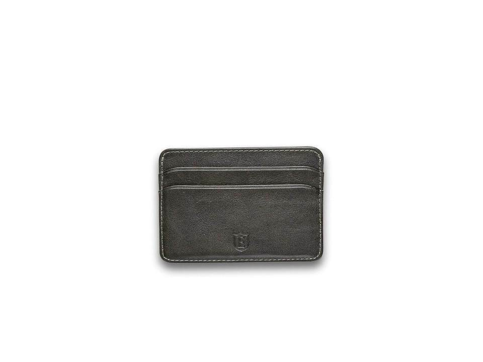 Ekster Secretary Juniper Green RFID Blocking Leather Cardholder Sleeve Wallet