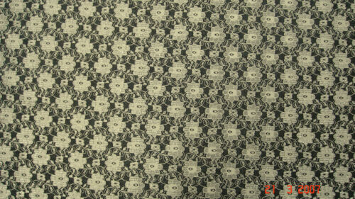 environ 10 cm x 4 cm Tissu en dentelle ivoire Sample