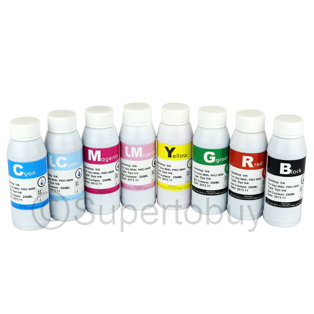 UV DYE INK CISS CIS SYSTEM FOR Canon PRO 9000 MK II