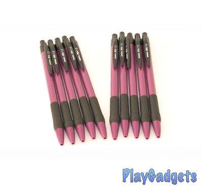 Zebra Pen 1.0  Auto Grip Purple 10 x Pens New Bargain!