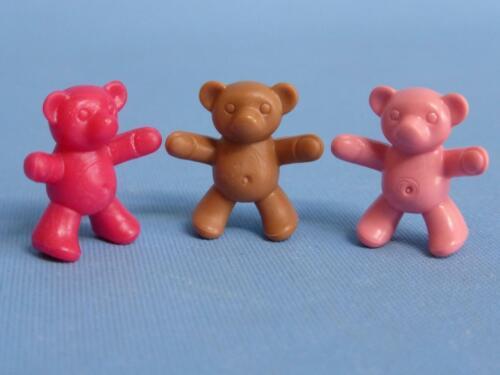 house park school toys NEW Playmobil Three Teddy Bears Teddies Teddys