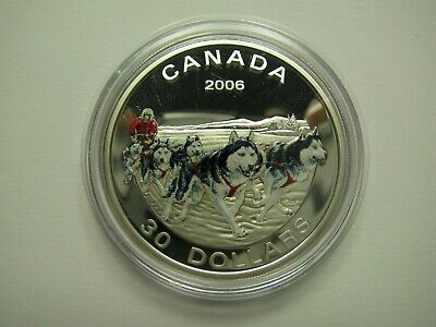 2006 Canada $30 Sterling Silver Coin National War Memorial
