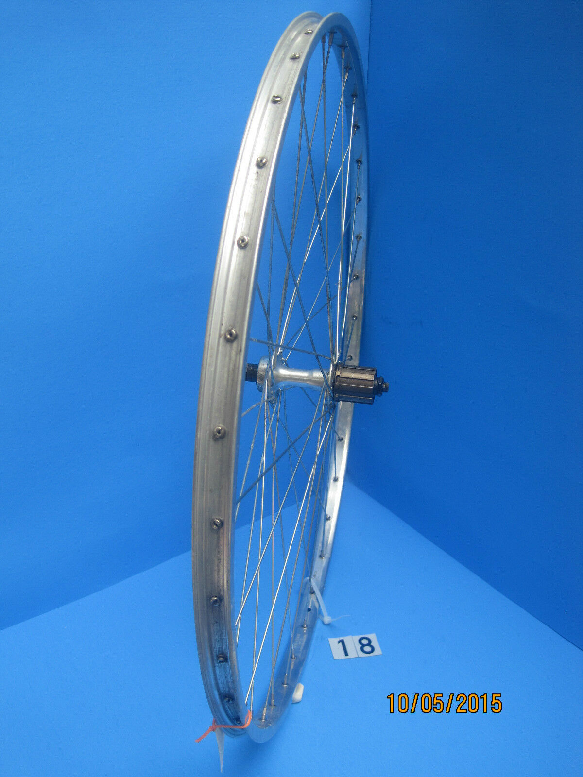 Vintage Alesa - Etrto 622 x 17 - Alloy 36 hole Rear Wheel - Shimano FH-HG20 Hub