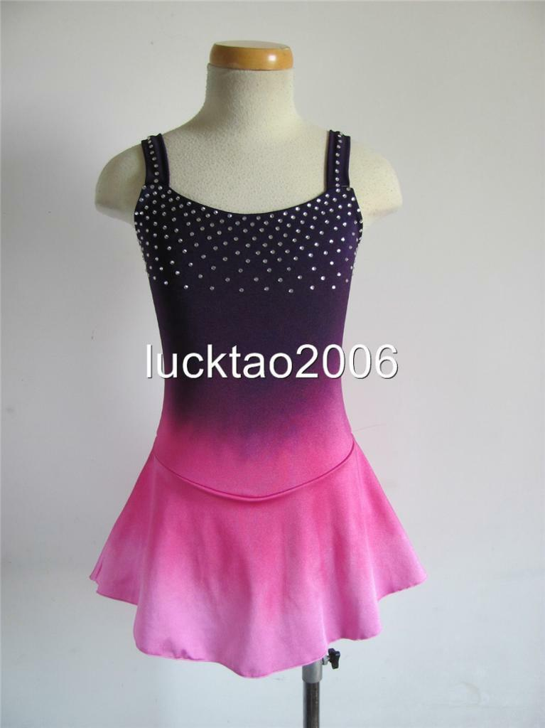 2018 new style Figure Skating Dress Ice Skating competition Dress 8103 size 12