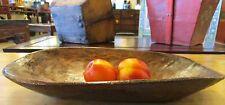 Antique Tibetan Wooden Dough Bowl Handmade Gorgeous Wood Tibet