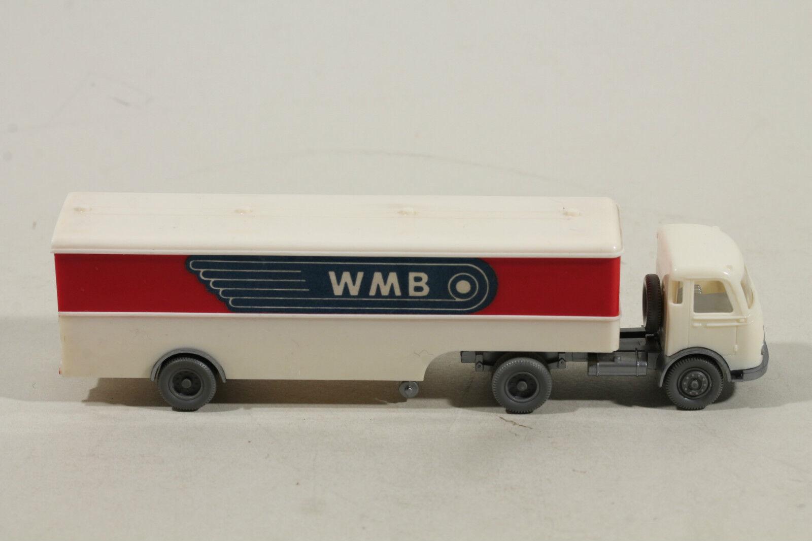 513 Typ 2B Wiking Pullman LKW   WMB   1963 - 1965   cremeweiß & rot