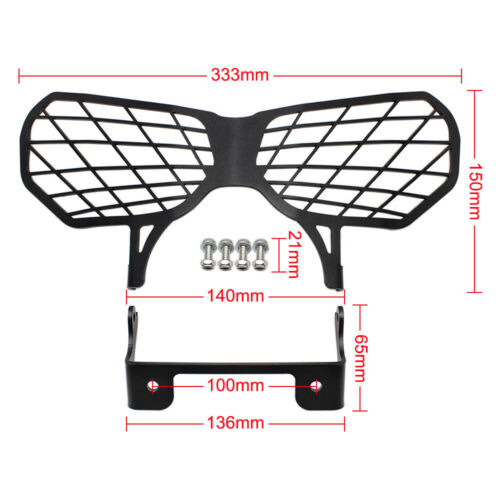 For Honda CRF1000L CRF 1000L Africa Twin Headlight Grille Guard Cover Protector