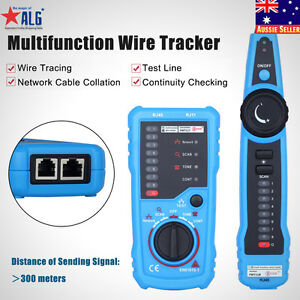 image is loading handheld-rj45-rj11-network-telephone-cable-tester-wire-