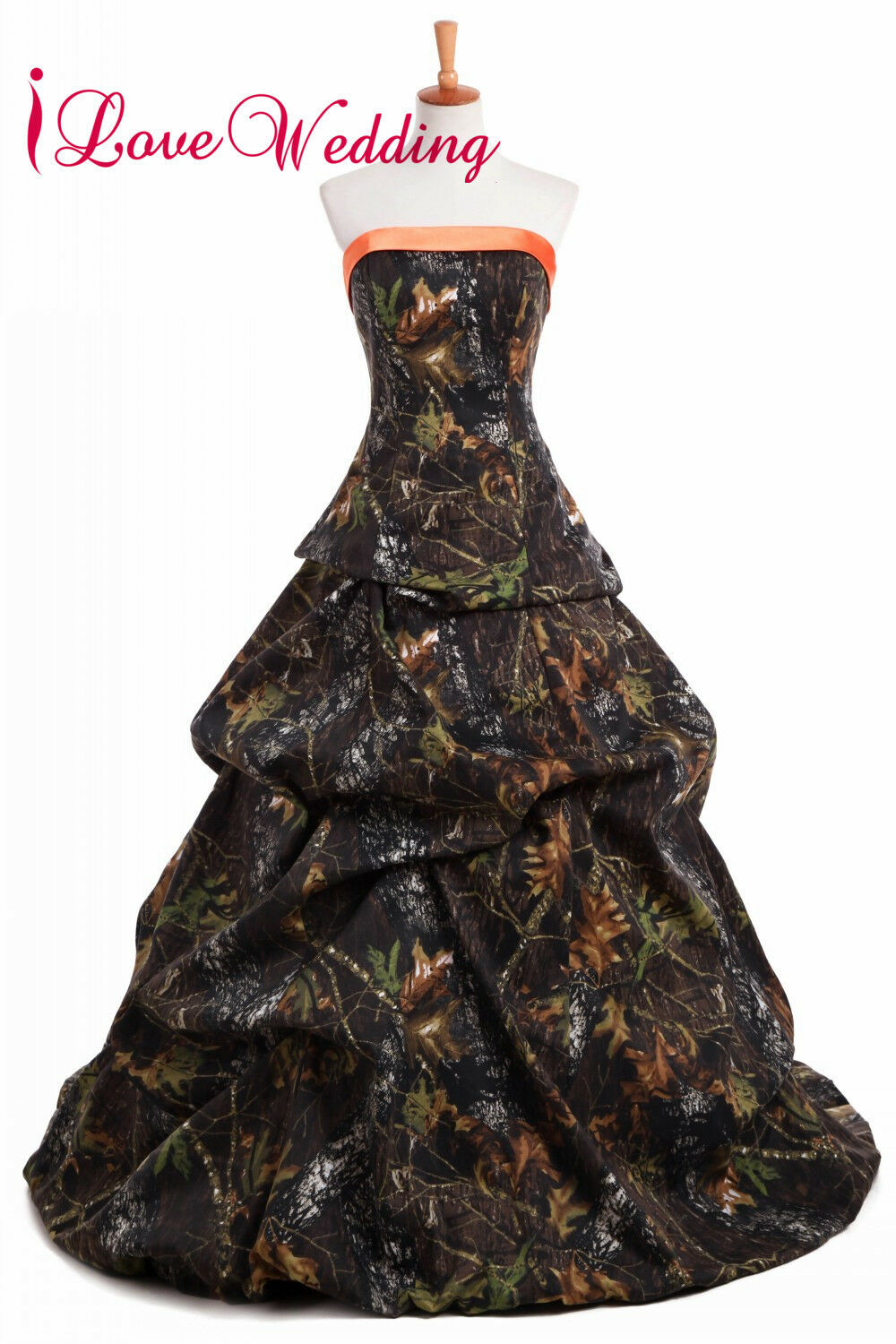2020 Real Tree New Camo Wedding Dresses Camouflage Lace Up Bridal Gowns Custom 7708424791513 Ebay