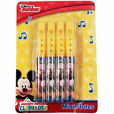 Disney Officially Licensed Mickey Mouse Mini Flute 2 Pack Music Instrument Toy