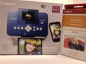 Canon-SELPHY-CP910-Digital-Photo-Dye-Sublimation-Printer