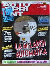 AUTOSPRINT n°30 1991 con Stampa ALFA ROMEO 12C - Rally Peugeot 306 T16 [P48]