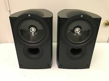 KEF Q1 AUDIOPHILE BOOKSHELF STEREO SPEAKERS IN BLACK
