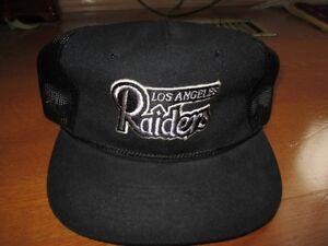 Image is loading VINTAGE-RAIDERS-OAKLAND-LOS-ANGELES-Vintage-Snapback-Hat- 2e751c49b5c