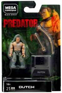 Mega Construx Predator Wave 2 Predator and Dutch Black Series NEW Sealed