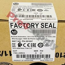 New Listing2020 2021 New Allen Bradley Micrologix 1400 32 Point Controller 1766 L32bwa