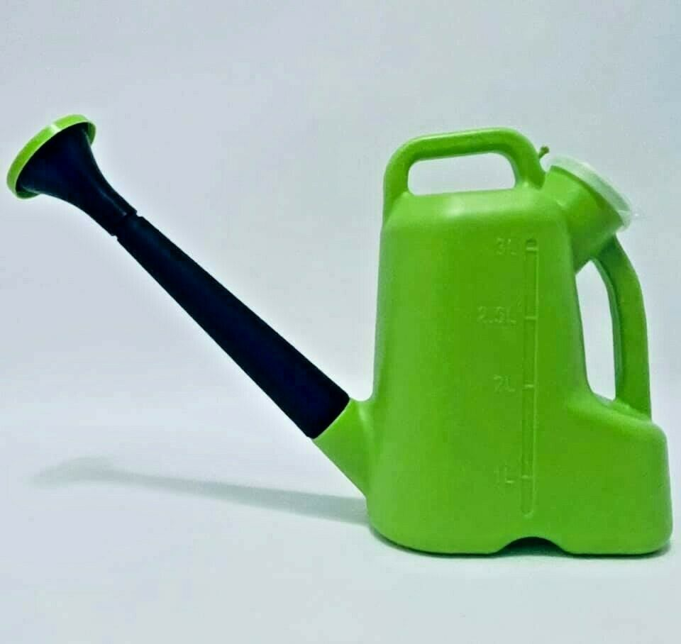 Plastic Watering Can 3 L Long Mouth Flower Vegetable Watering Kettle