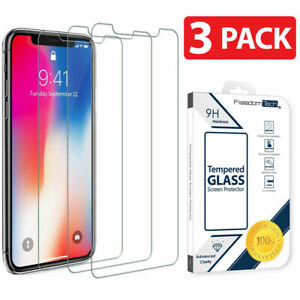 For iPhone 13 12 11 Pro X XS XR 8 7 6 Screen Protector Tempered Glass Protection
