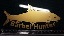 Barbel Hunter Sticker x1 Fishing, Coarse, Angling, Carp, decal, Car, can, tackle