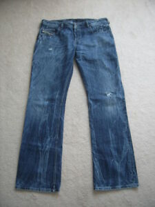 0e6b64f5 LIGHTLY USED 100% AUTHENTIC DIESEL JEANS, SZ 36X32 AND 36X34 | eBay