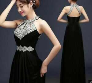 Satin-Formal-Gowns-Long-Evening-Dress-For-Ladies-Beaded-Sequined-Crystal-Dresses