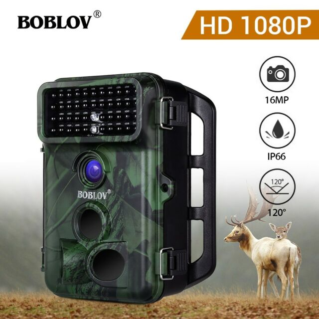 BOBLOV CT005 16MP 1080P Digital Infrared Trail Camera IP66 Wild Camera With Belt