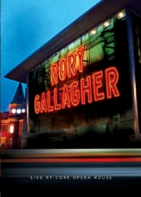 """RORY GALLAGHER """"LIVE AT CORK OPERA HOUSE"""" DVD NEUWARE!!"""