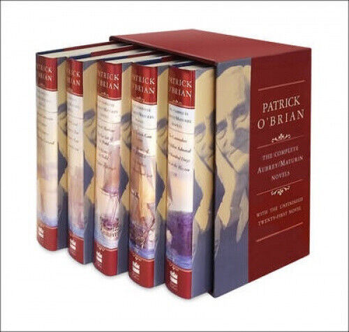 The Complete Aubrey/Maturin Novels by O'Brian, Patrick.