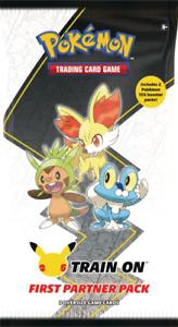 Pokemon First Partner Pack - Kalos (3 Oversized Cards + 2 Booster Packs)