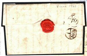 Autriche Vienne Gb London Lettre Entière 1766 {samwells Couvre -} P132-rs} P132 Fr-fr Afficher Le Titre D'origine Soulager Le Rhumatisme
