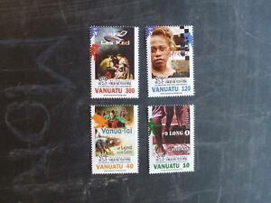 2014-VANUATU-THEATRE-SET-4-MINT-STAMPS-MNH