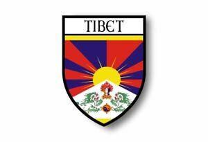 Stickers-decal-souvenir-vinyl-car-shield-city-flag-world-crest-tibet
