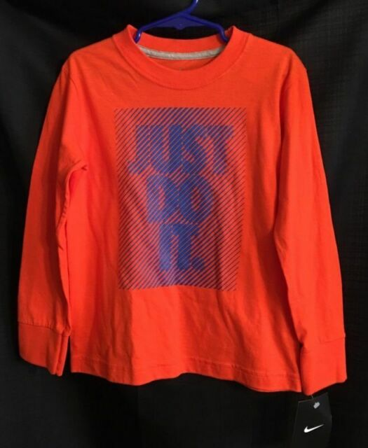 Nike Sportswear Just Do It Long-Sleeve Men/'s T-Shirt  S M L XL 2XL 4XL Red