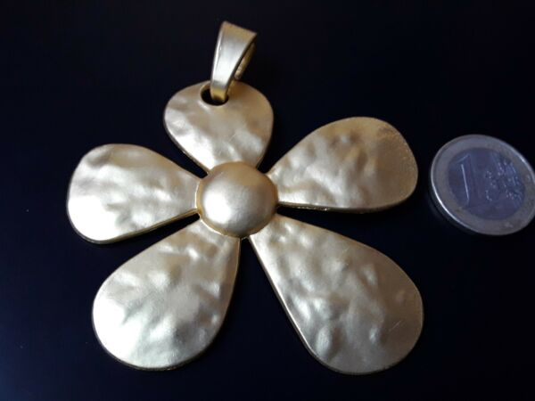 1 A 20 Anhänger Zamak Golden (flor-32do) Blumen Perlen Halsketten Gänseblümchen Gutes Renommee Auf Der Ganzen Welt