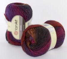 100g Farbverlauf Wolle Stricken MAGIC YarnArt Neongrün 100/% Wolle 200m 100g