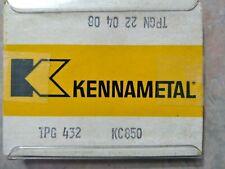 5 Pcs Tpg 432 Kennametal Kc850 Carbide Inserts