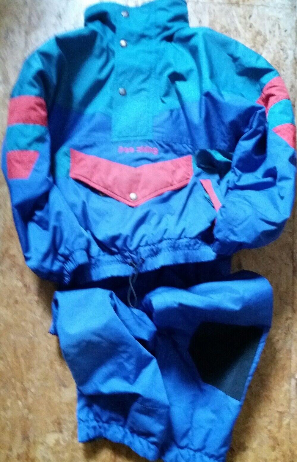 Skianzug Kinder Jacke Gr. 140  Hose Gr. 128 Rennanzug Wärmeanzug