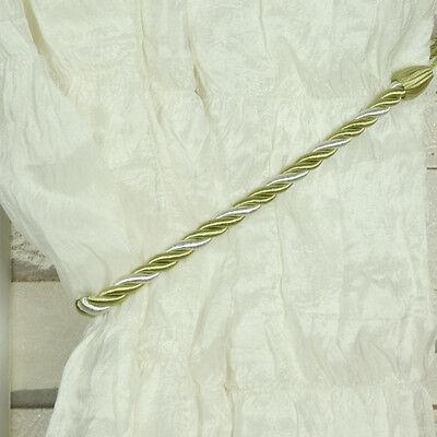 7 Colors Vintage Rope Curtain Tie Backs(Tiebacks) - Pair